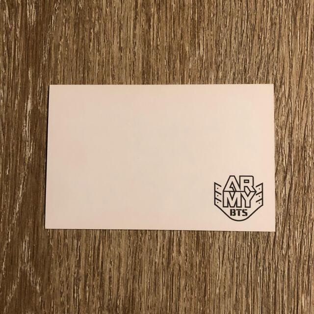 防弾少年団(BTS)(ボウダンショウネンダン)のBTS ジン アーミーブース トレカ 韓国 エンタメ/ホビーのCD(K-POP/アジア)の商品写真