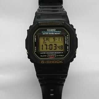 G-SHOCK - カシオ G-SHOCK DW-5600E(ゴールド)ケース付
