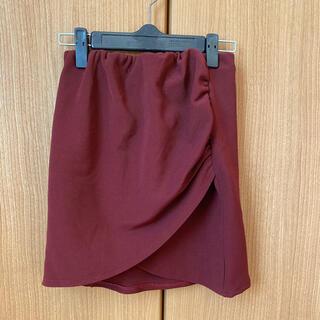 ダチュラ(DaTuRa)のタイトスカート ボルドー ダチュラ グレイル(ミニスカート)