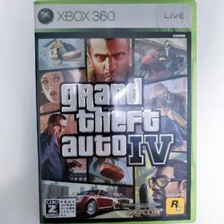 エックスボックス360(Xbox360)のxbox360 グランド・セフト・オートIV XB360(家庭用ゲームソフト)