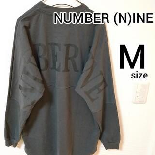 ナンバーナイン(NUMBER (N)INE)のナンバーナイン 長袖Tシャツ バックプリント ロングスリーブ メンズ size2(Tシャツ/カットソー(七分/長袖))
