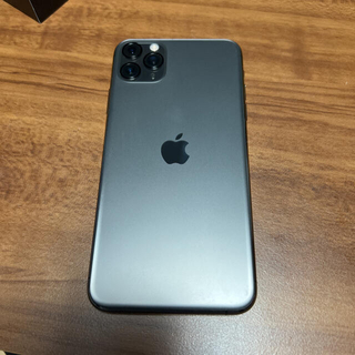 iPhone - iPhone 11 Pro Max 64GB スペースグレイ SIMフリー
