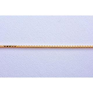 ベネチアン ネックレス 50cm 1.2mm スライド 18金