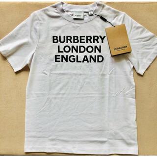 BURBERRY - 【新品未使用】バーバリー ロゴTシャツ ホワイト 12Y