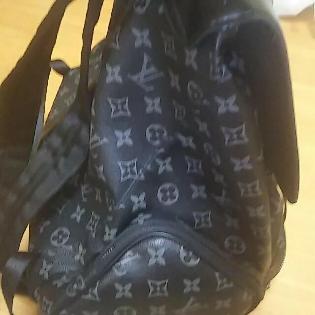 LOUIS VUITTON(ルイヴィトン)のルイヴィトン(黒)モノグラム メンズのバッグ(バッグパック/リュック)の商品写真