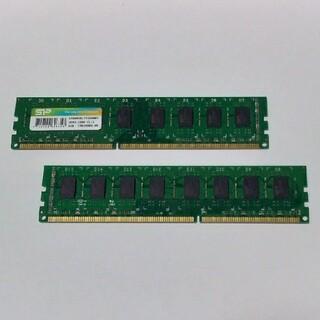 8GBx2枚 DDR3-1600 デスクトップ用メモリ