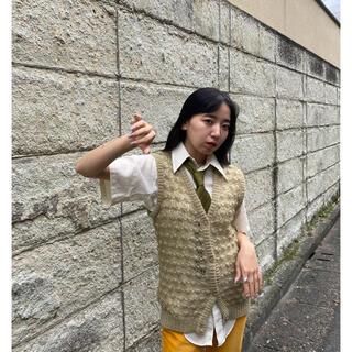 クリスチャンディオール(Christian Dior)の80s Dior knit vest(ベスト)