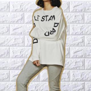 ダブルスタンダードクロージング(DOUBLE STANDARD CLOTHING)のダブルスタンダードクロージング ラスティック天竺 長袖Tシャツ (Tシャツ(長袖/七分))