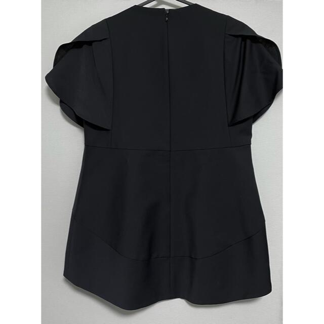 BARNEYS NEW YORK(バーニーズニューヨーク)のyoko chan ☆ Flared-sleeve Pearl Blouse レディースのトップス(シャツ/ブラウス(半袖/袖なし))の商品写真