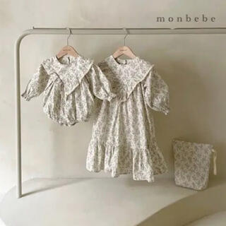 キャラメルベビー&チャイルド(Caramel baby&child )のmonbebe イザベルワンピース 110(ワンピース)