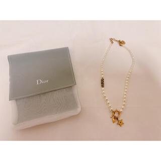 Christian Dior - 未使用 Dior パールチョーカー ネックレス