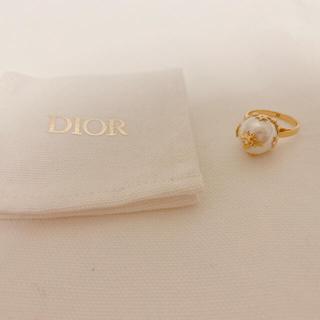 Christian Dior - 未使用 Dior ディオール パールリング