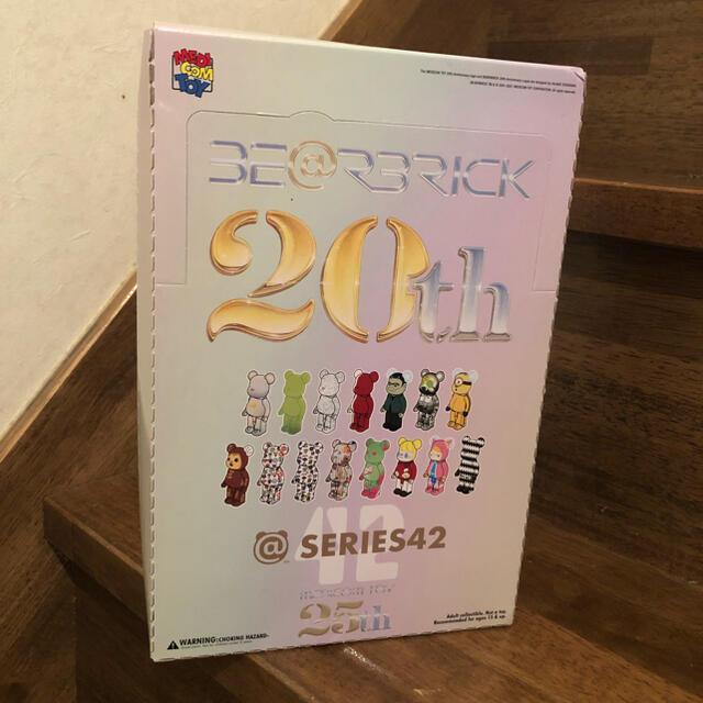 MEDICOM TOY(メディコムトイ)のBE@RBRICK SERIES 42 20th ANNIVERSARY   エンタメ/ホビーのフィギュア(その他)の商品写真