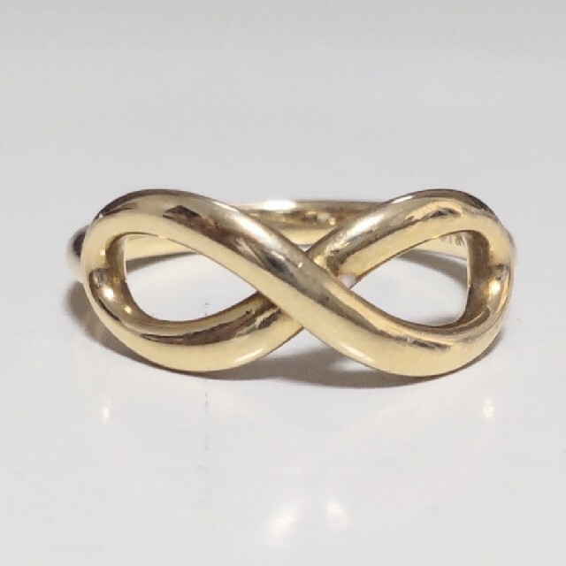 Tiffany & Co.(ティファニー)のK18YG ティファニー インフィニティ リング 18金 レディースのアクセサリー(リング(指輪))の商品写真