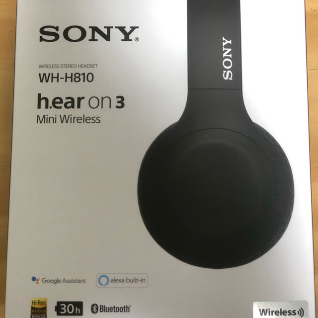SONY(ソニー)のSONY WH-H810(B) スマホ/家電/カメラのオーディオ機器(ヘッドフォン/イヤフォン)の商品写真