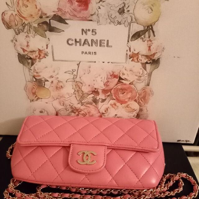 CHANEL(シャネル)のhayashi様専用 CHANEL2021 アイウェアケース レディースのバッグ(ショルダーバッグ)の商品写真