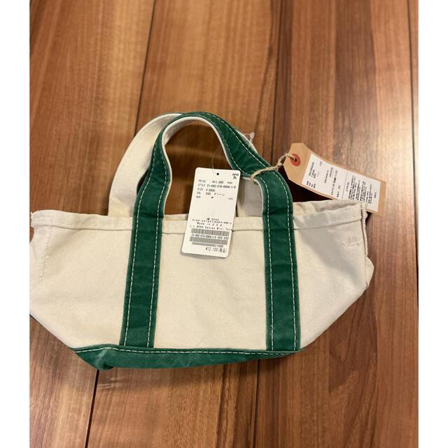 L'Appartement DEUXIEME CLASSE(アパルトモンドゥーズィエムクラス)の【L.L.Bean 】Canvas Mini Tote Bag レディースのバッグ(トートバッグ)の商品写真