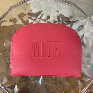 Christian Dior - ディオール ノベルティ ポーチ 桃色