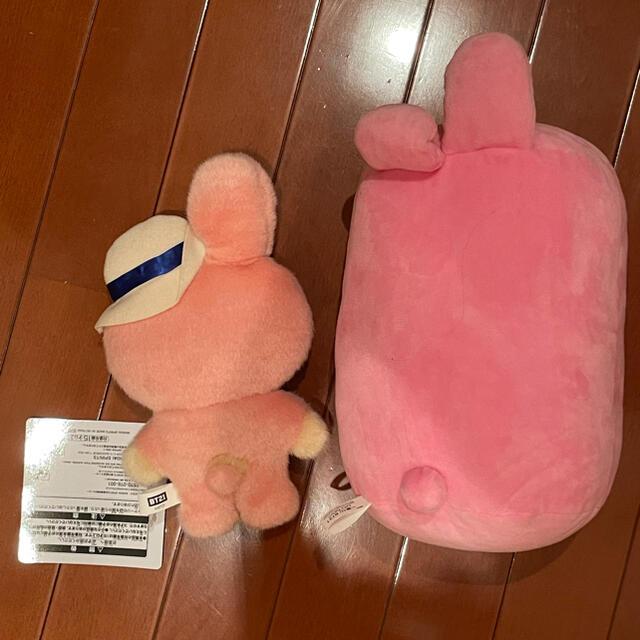 BT21  公式 1番くじ cooky エンタメ/ホビーのおもちゃ/ぬいぐるみ(ぬいぐるみ)の商品写真