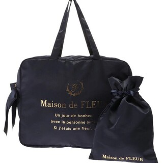 メゾンドフルール(Maison de FLEUR)のメゾンドフルール トラベル キャリーオンバッグ L(ボストンバッグ)