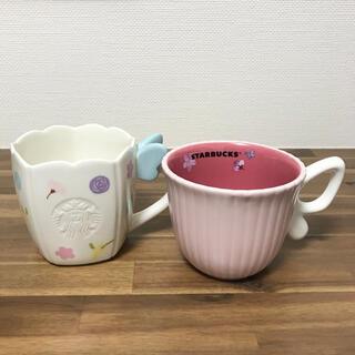スターバックスコーヒー(Starbucks Coffee)のスターバックス 2021 さくら マグカップ 2種(グラス/カップ)