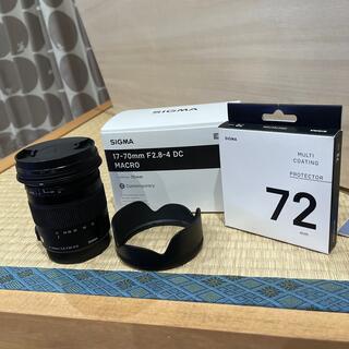 SIGMA - SIGMA ズームレンズ 17-70mm F2.8-4 DC MACRO