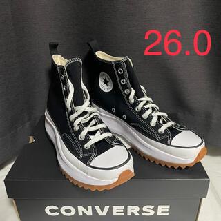CONVERSE - CONVERSE RUN STAR HIKE HI BLACK 26.0cm