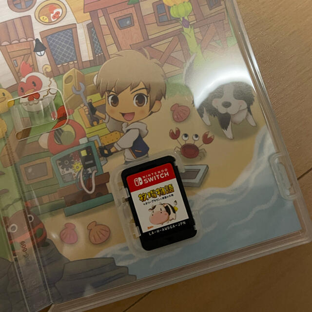 Nintendo Switch(ニンテンドースイッチ)のSwitch 牧場物語 オリーブタウンと希望の大地 エンタメ/ホビーのゲームソフト/ゲーム機本体(家庭用ゲームソフト)の商品写真