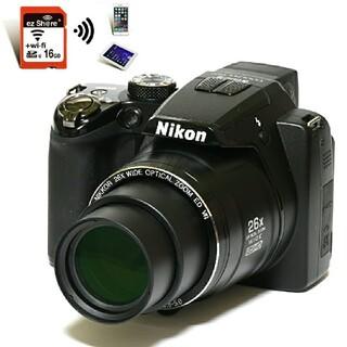 Nikon - 【Nikon】Wi-Fiでスマホへ★あらゆるシーンで大活躍!! P100