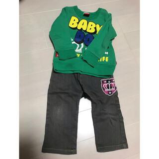 ベビードール(BABYDOLL)のベビードール トレーナー パンツ 90 男の子(Tシャツ/カットソー)