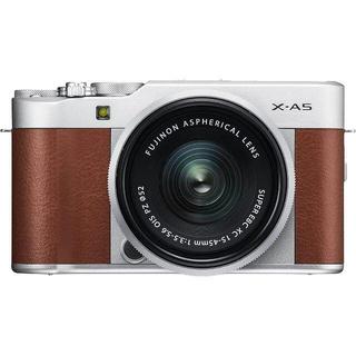 富士フイルム - FUJIFILM X-A5 ミラーレス一眼カメラ ブラウン X-A5LK-BW