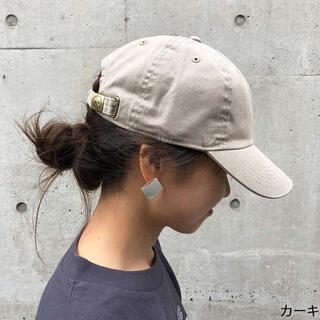 新品 ニューハッタン キャップ 帽子 cap レディースメンズ ベージュ系カーキ