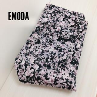エモダ(EMODA)のEMODA fragile flower パギンス スキニーパンツ*ムルーア(スキニーパンツ)