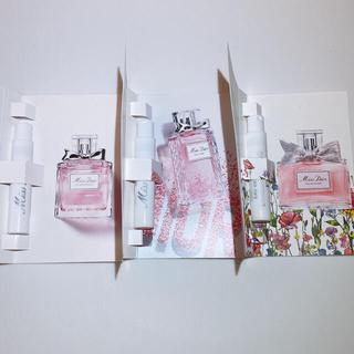 ディオール(Dior)のMiss Dior🌸香水 サンプル(香水(女性用))