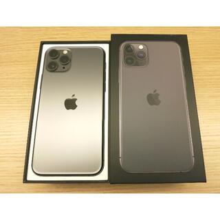 Apple - Apple iPhone11 pro 64GB スペースグレイ SIMフリー