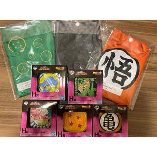 バンダイ(BANDAI)の一番くじ ドラゴンボール サコッシュ コースター まとめ売り(その他)