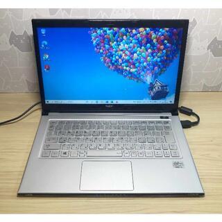 エヌイーシー(NEC)の訳あり>NEC LZ550/M i5/4G/SSD128G/Office(ノートPC)