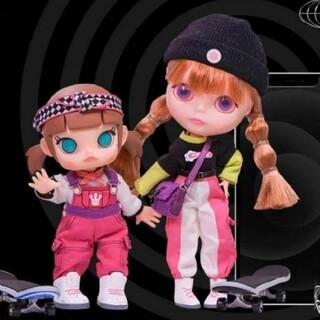 【即納可】ポップマートブライス第3段(スケボー)Blythe&Molly