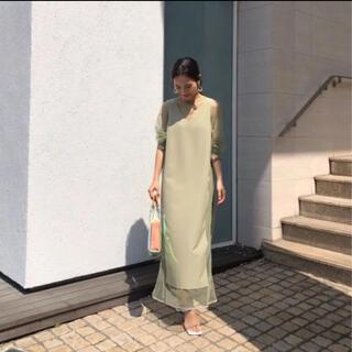 Ameri VINTAGE - 完売品 ameri vintage tulle docking dress