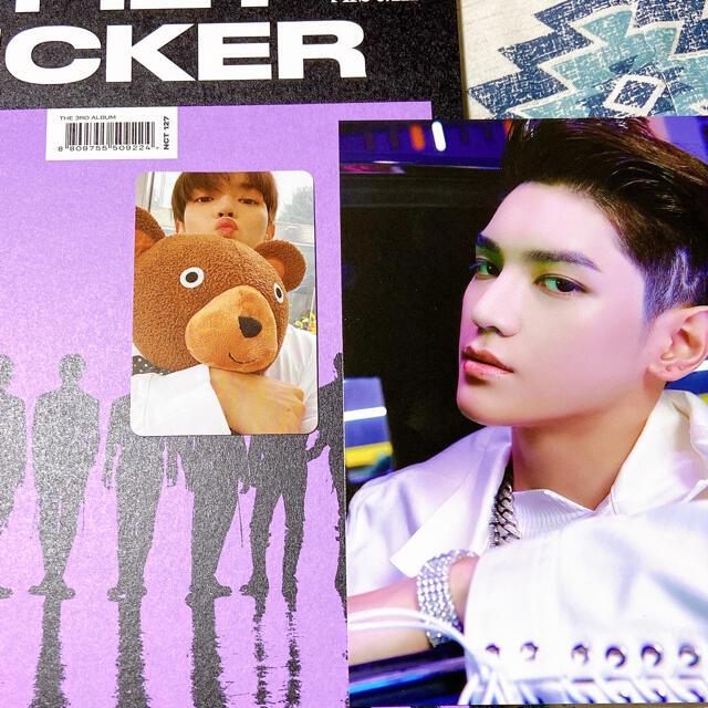 NCT127  sticker  テヨン 最終値下げ エンタメ/ホビーのCD(K-POP/アジア)の商品写真