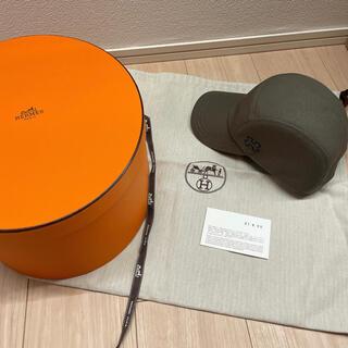 エルメス(Hermes)の新品未使用!HERMES★定価約74000円程度NevadaストリートHキャップ(キャップ)