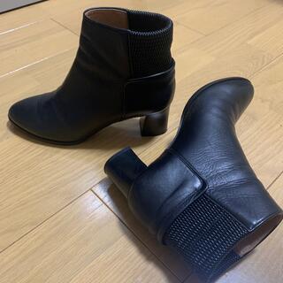 モードエジャコモ(Mode et Jacomo)のギルドジャコモ 本革 黒 22.5(ブーツ)
