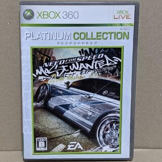 エックスボックス360(Xbox360)のXBOX 360 ニード・フォー・スピード モスト・ウォンテッド(日本語版)(家庭用ゲームソフト)