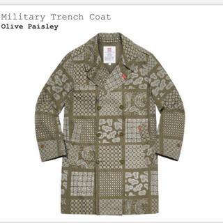 Supreme - Military Trench Coat