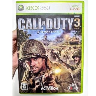 エックスボックス360(Xbox360)のxbox360 コール オブ デューティ3 XB360(家庭用ゲームソフト)