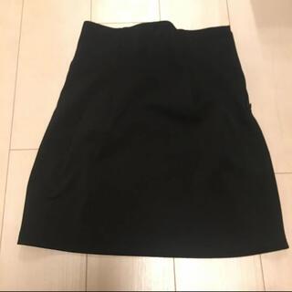 リップサービス(LIP SERVICE)のLIP SERVICE タイトスカート 黒(ひざ丈スカート)