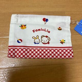 familiar - ファミリア コップ巾着