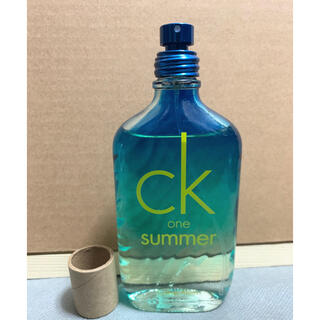 カルバンクライン(Calvin Klein)のck one summer2015 ほぼ未使用!(ユニセックス)