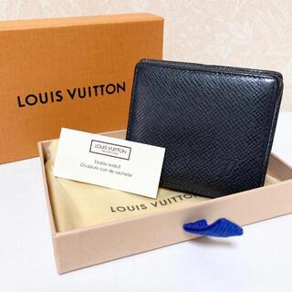 LOUIS VUITTON - ルイヴィトン タイガ ポルトモネ ボワット コインケース 小銭入れ 黒 ブラック