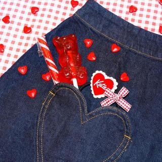 Katie - K-JEANS heart pocket pants ハートポケットデニム
